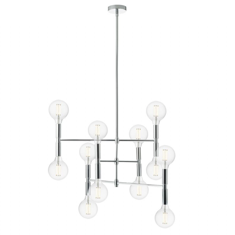 Athena 12 Light Pendant Polished Chrome